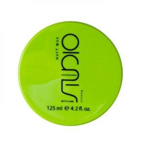 Матовый воск для укладки волос сильной фиксации «Matt Wax», 125 мл