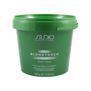 Обесцвечивающий порошок для волос с экстрактом женьшеня и рисовыми протеинами «Dust Free», 500 г