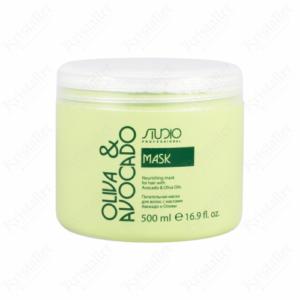 Питательная маска для волос с маслом Авокадо и Оливы, 500 мл, Kapous